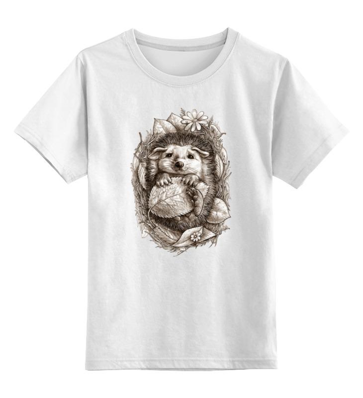 Printio Милашка ёж детская футболка классическая унисекс printio ёж животные