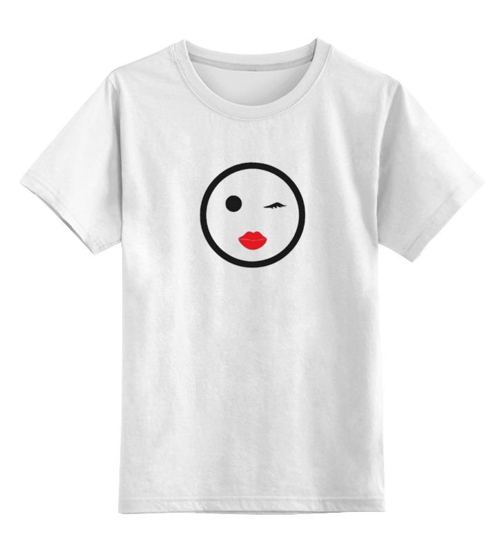 Детская футболка классическая унисекс Printio Flirt футболка классическая printio flirt girl