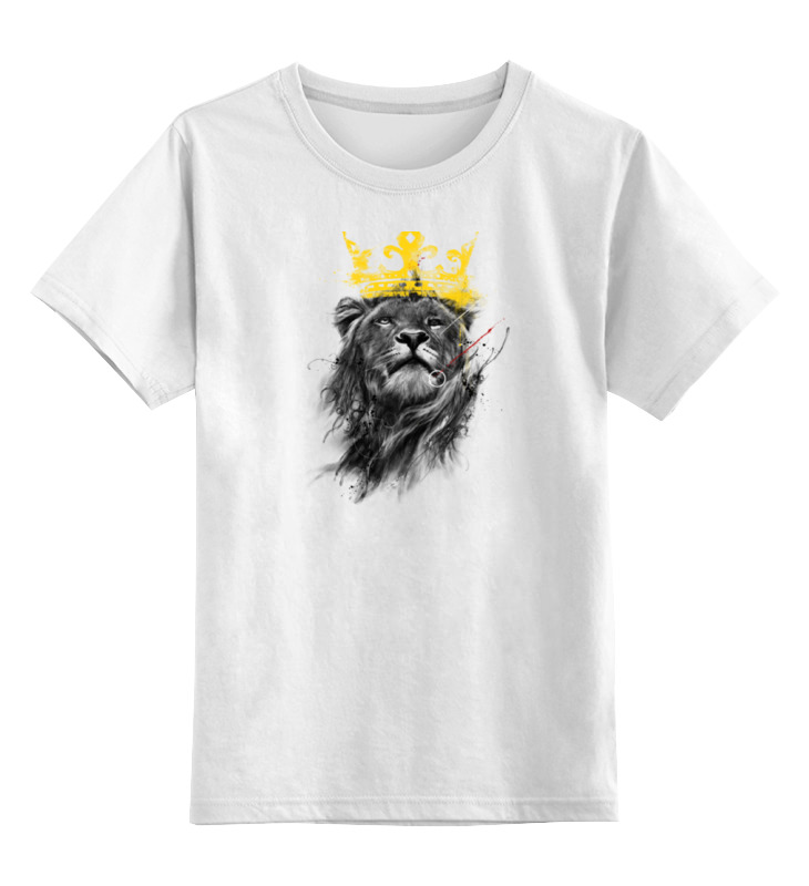 Детская футболка классическая унисекс Printio Король лев детская футболка классическая унисекс printio рычащий лев