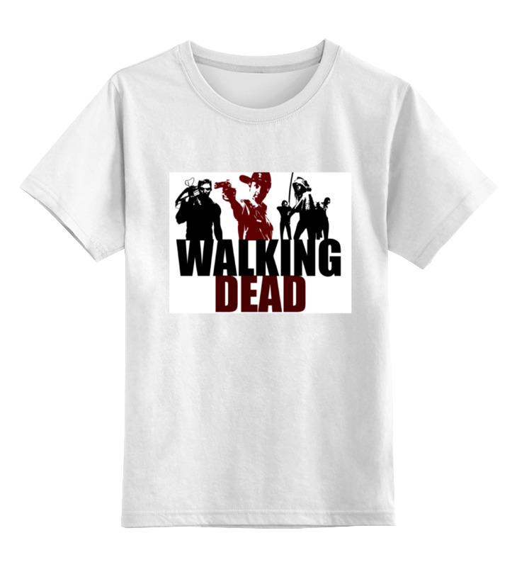 Детская футболка классическая унисекс Printio Ходячие мертвецы