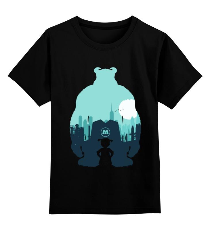 Детская футболка классическая унисекс Printio Корпорация монстров