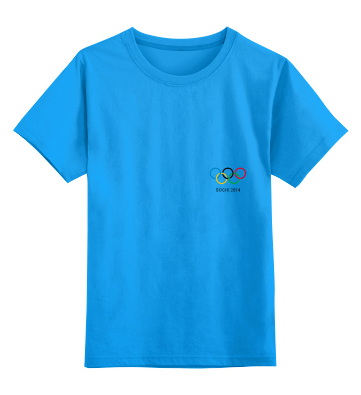 Детская футболка классическая унисекс Printio Сочи 2014 одежда для дам 2014