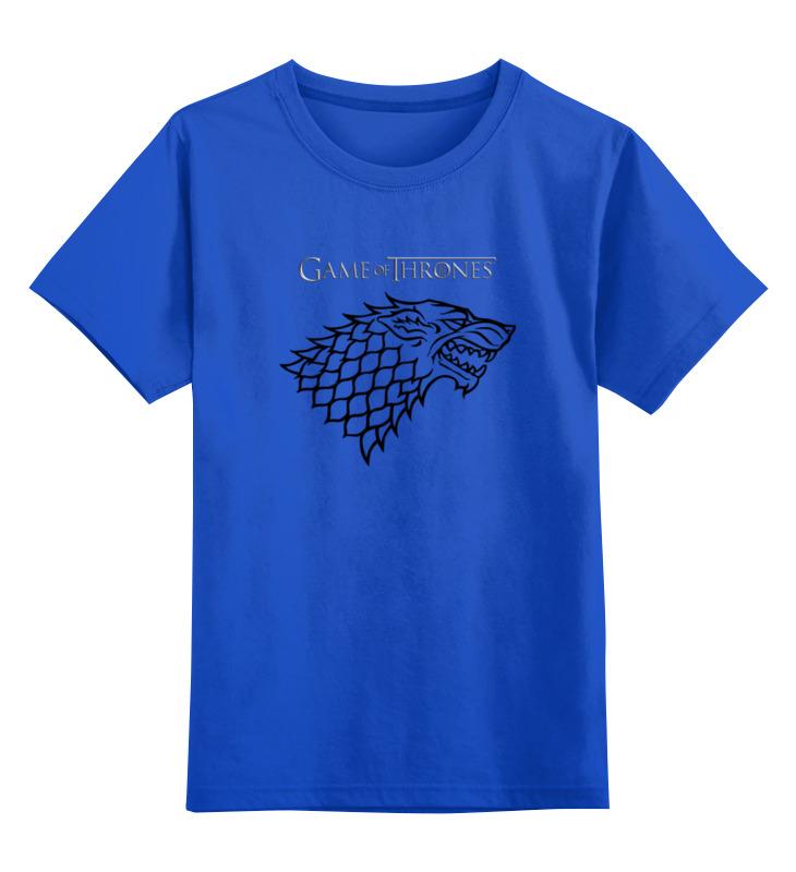 Детская футболка классическая унисекс Printio Game of thrones: stark детская футболка классическая унисекс printio sadhus of india
