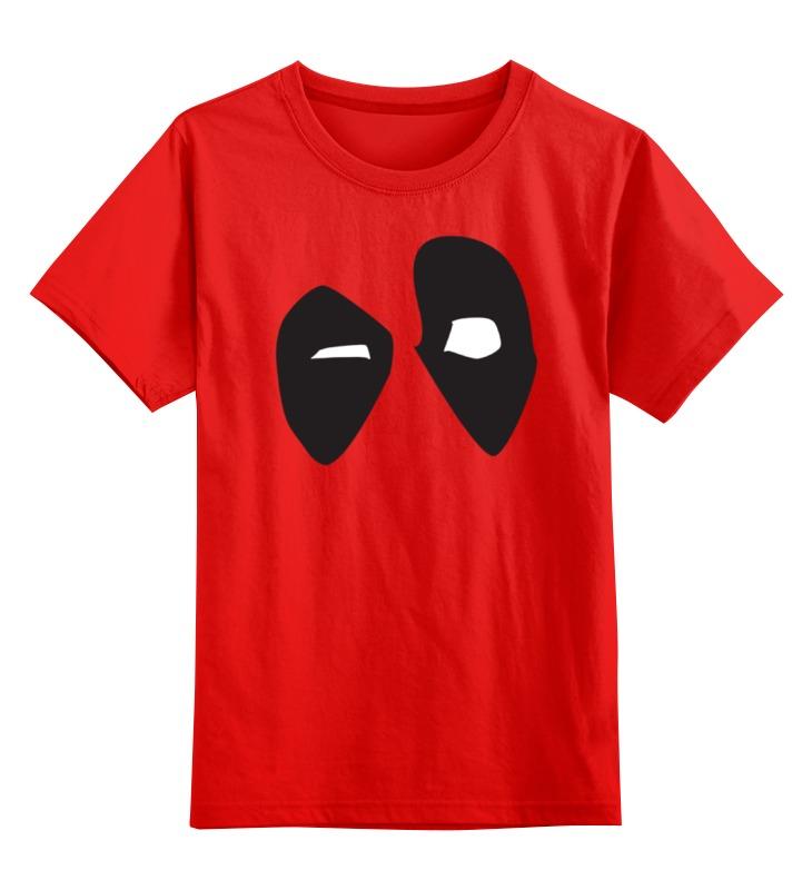 Детская футболка классическая унисекс Printio Deadpool/дэдпул smoby детская горка king size цвет красный