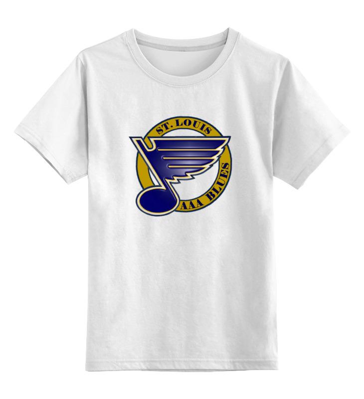 Детская футболка классическая унисекс Printio St louis blues / nhl usa майка классическая printio st louis blues nhl usa