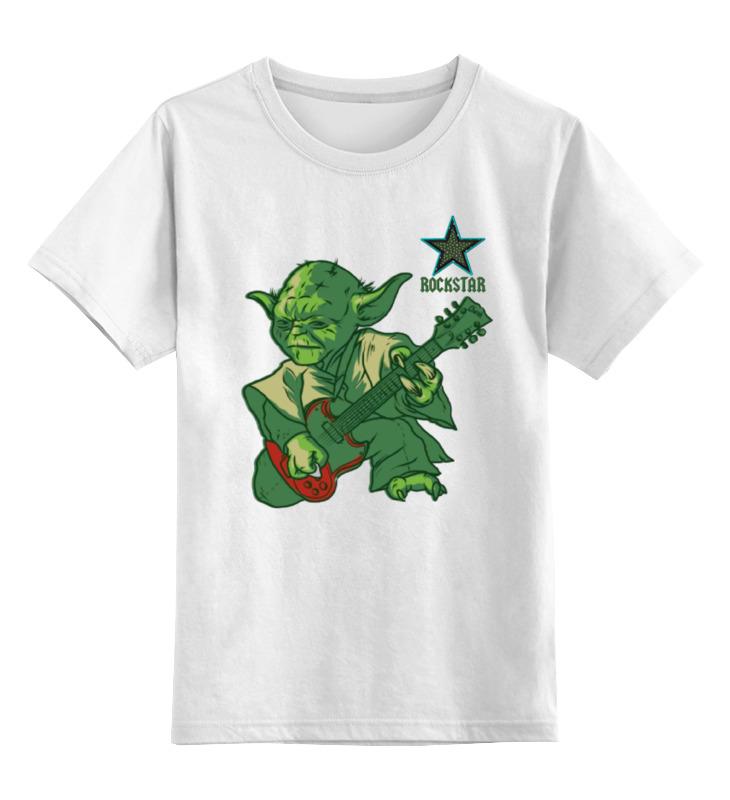 Детская футболка классическая унисекс Printio Rockstar / starwars майка классическая printio rockstar starwars