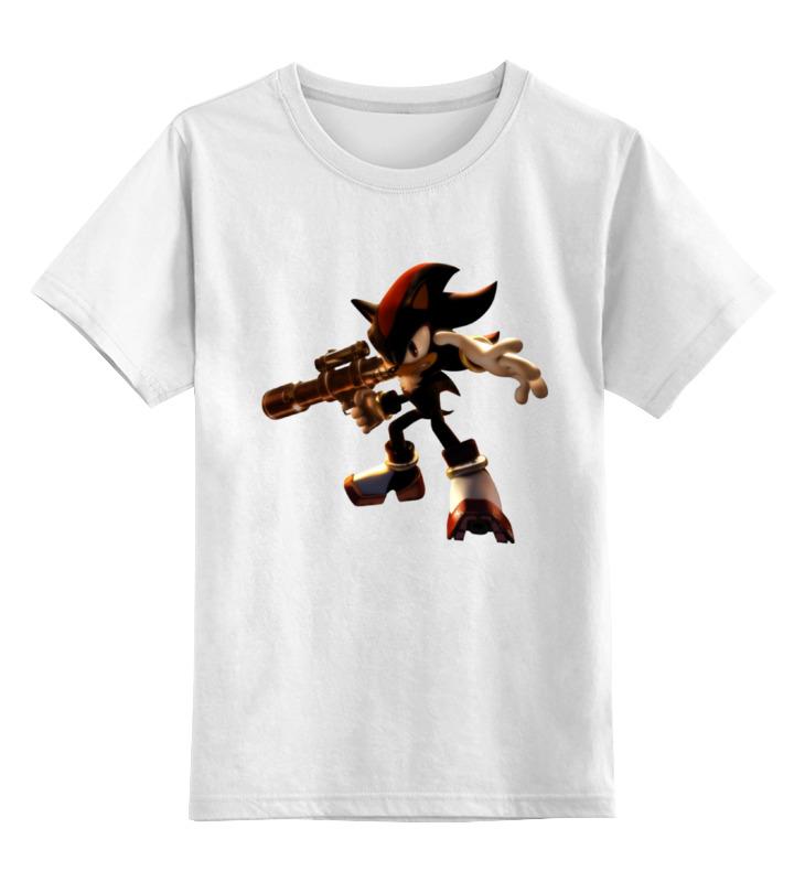 Детская футболка классическая унисекс Printio Shadow the hedgehog (ёж шэдоу) the mountain shadow
