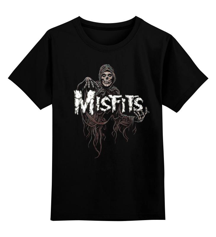 Детская футболка классическая унисекс Printio Misfits band