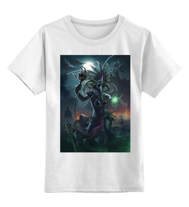 Детская футболка классическая унисекс Printio Witch doctor юбка strawberry witch lolita sk