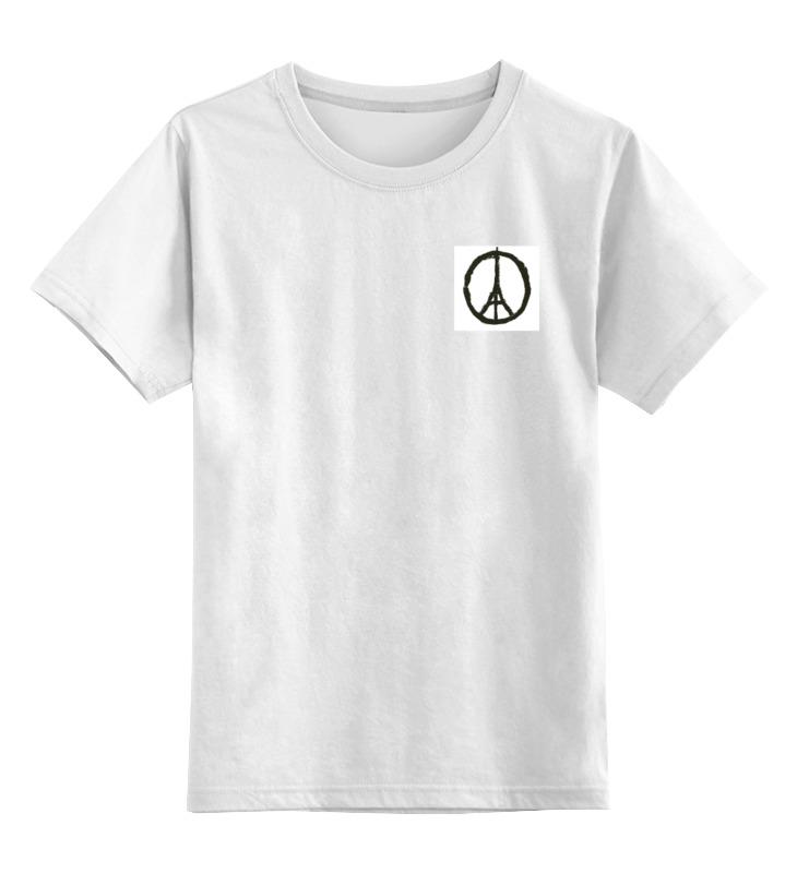 Детская футболка классическая унисекс Printio Pray for paris | молитесь за париж