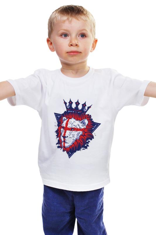 Детская футболка классическая унисекс Printio Король лев детская футболка классическая унисекс printio лев