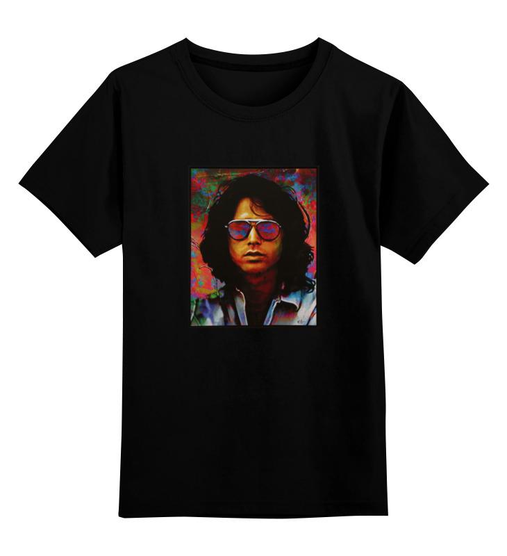 Детская футболка классическая унисекс Printio Джим моррисон сделай тело джим флекстор в спб