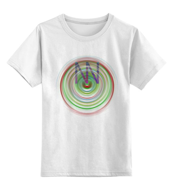 Детская футболка классическая унисекс Printio Nn004 детская футболка классическая унисекс printio соник