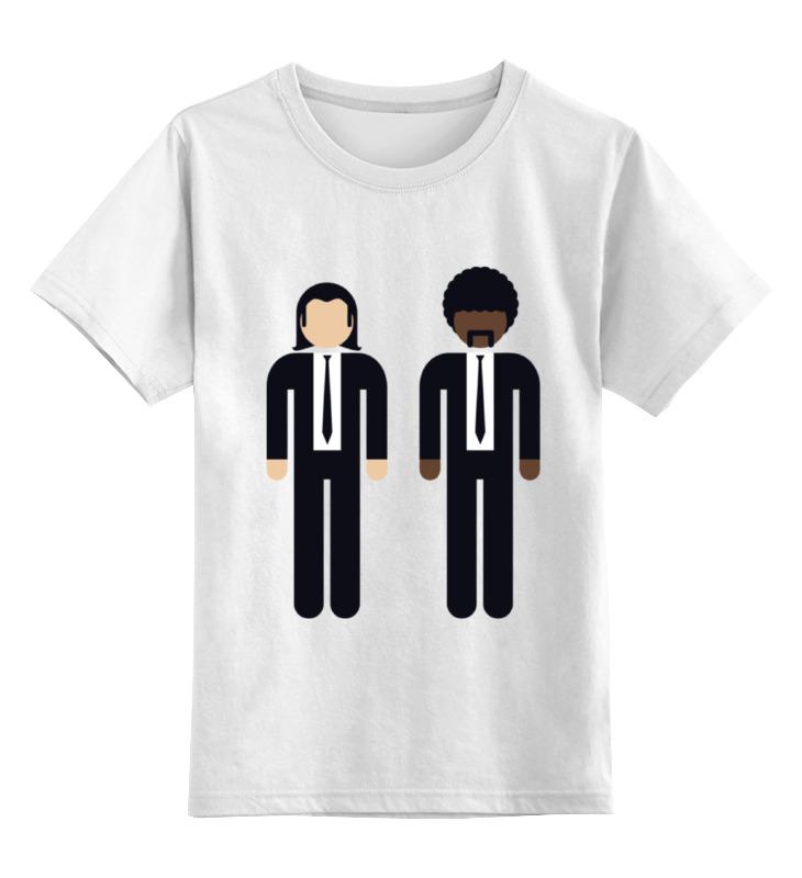 Детская футболка классическая унисекс Printio Криминальное чтиво
