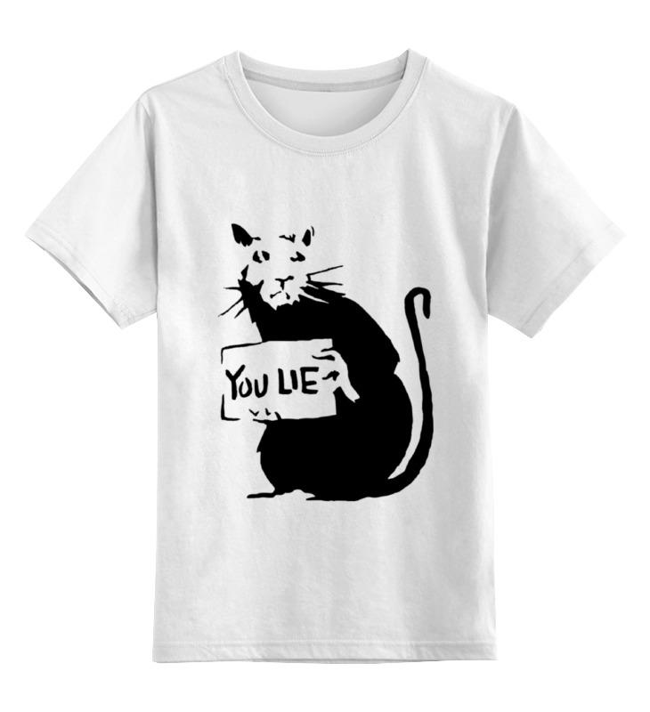 Детская футболка классическая унисекс Printio Крыса лонгслив printio крыса
