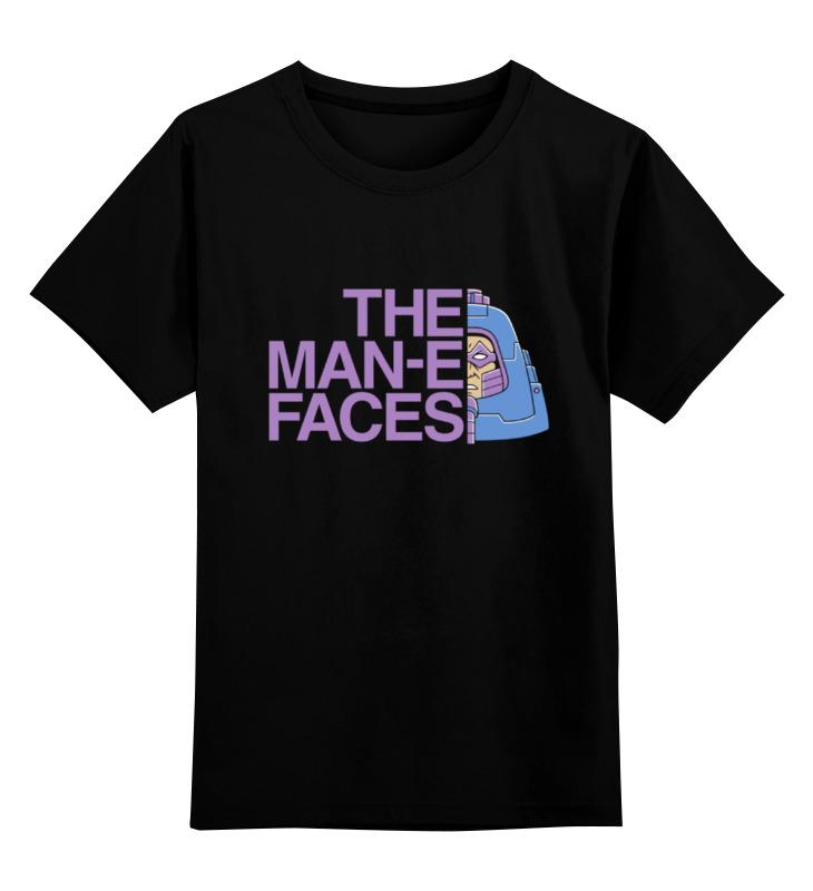 Детская футболка классическая унисекс Printio Man-e-faces (хи-мен) first sticker book ponies