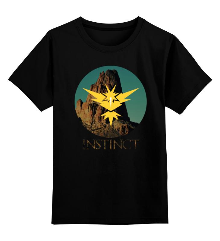 Детская футболка классическая унисекс Printio Instinct