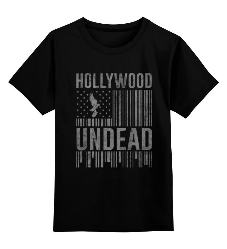 Детская футболка классическая унисекс Printio Hollywood undead все цены