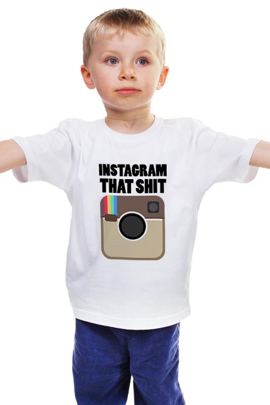 Детская футболка классическая унисекс Printio Инстаграм детская футболка классическая унисекс printio мачете