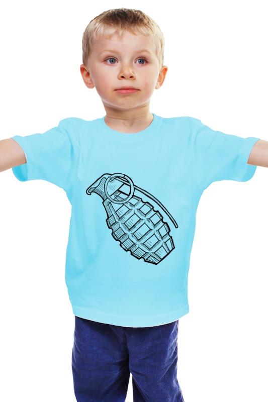 Детская футболка классическая унисекс Printio Grenade детская футболка классическая унисекс printio мачете