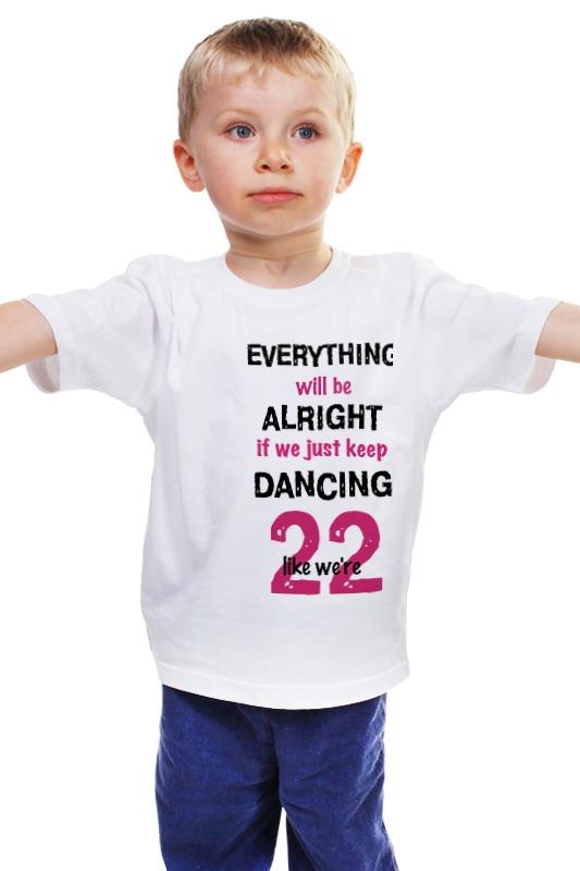 Детская футболка классическая унисекс Printio Taylor swift 22 schoffel swift shirt