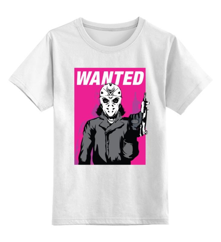 Детская футболка классическая унисекс Printio Маньяк с узи лонгслив printio маньяк с узи