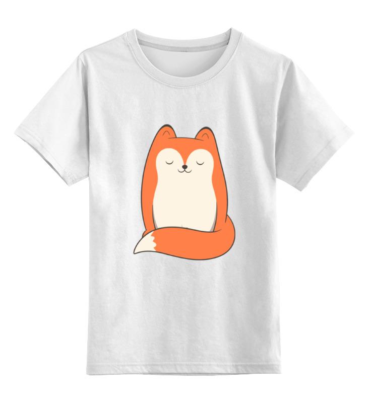 Детская футболка классическая унисекс Printio Лисичка (fox) детская футболка классическая унисекс printio stiletto fox