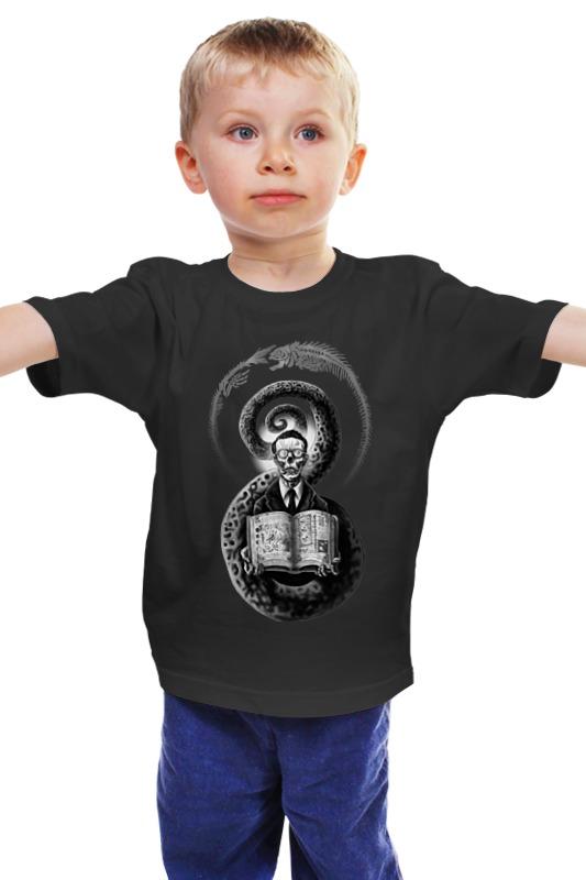 Детская футболка классическая унисекс Printio Лавкрафт детская футболка классическая унисекс printio мачете