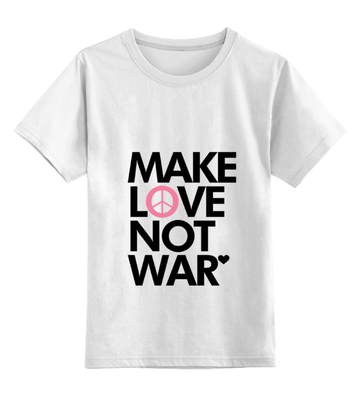 Printio Make love not war цена