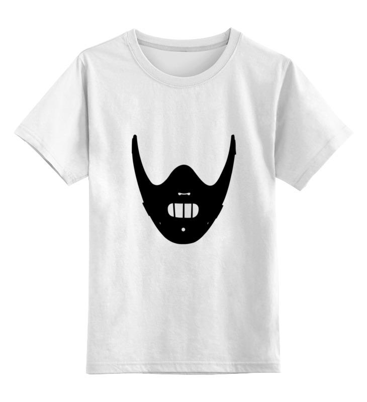 цена на Детская футболка классическая унисекс Printio Ганнибал лектер (молчание ягнят)