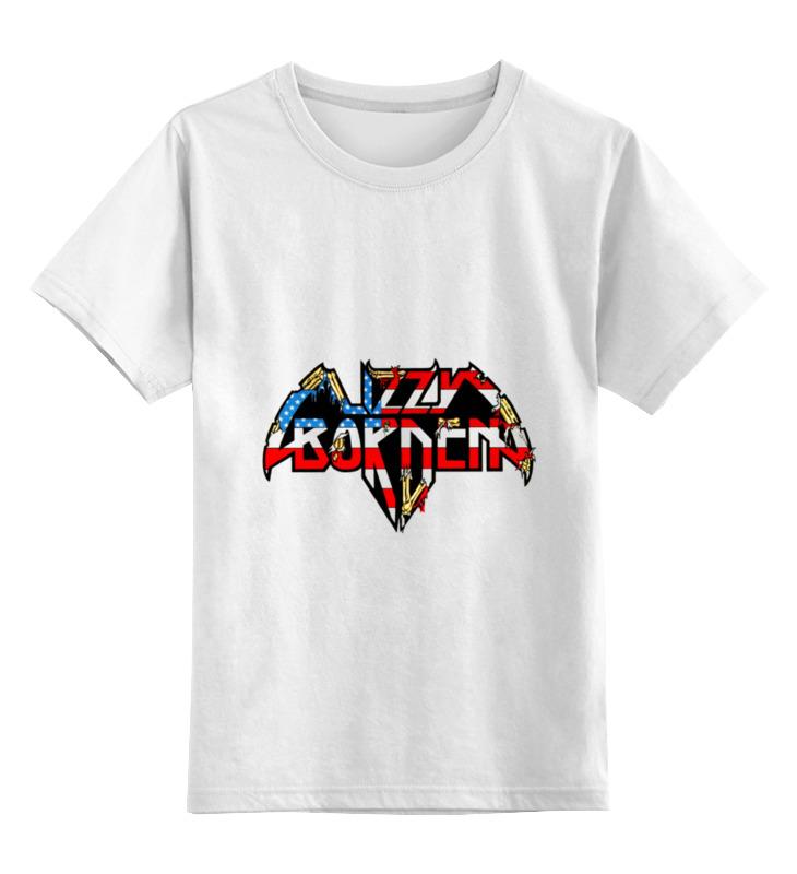 Детская футболка классическая унисекс Printio Lizzy borden футболка wearcraft premium slim fit printio lizzy borden