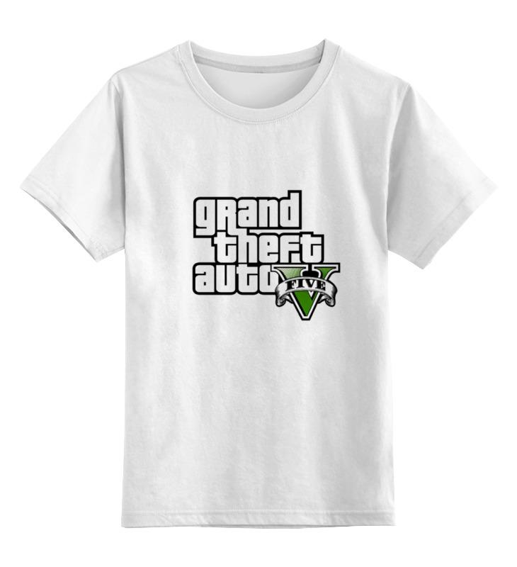 Детская футболка классическая унисекс Printio Grand theft auto v футболка классическая printio grand theft auto 5