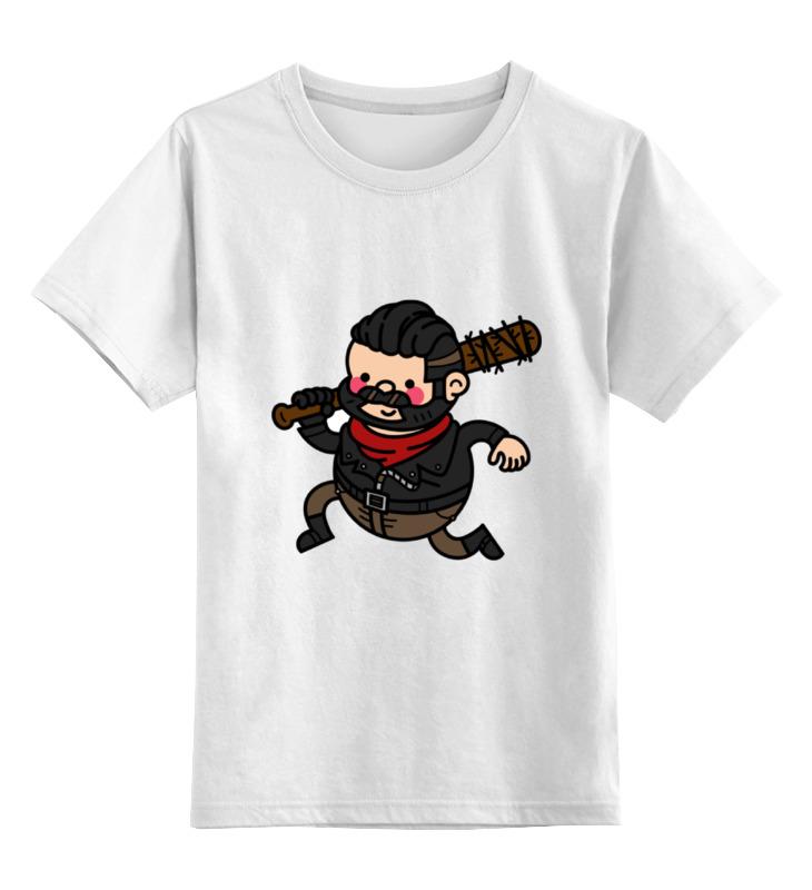Детская футболка классическая унисекс Printio Ниган детская футболка классическая унисекс printio ниган кот