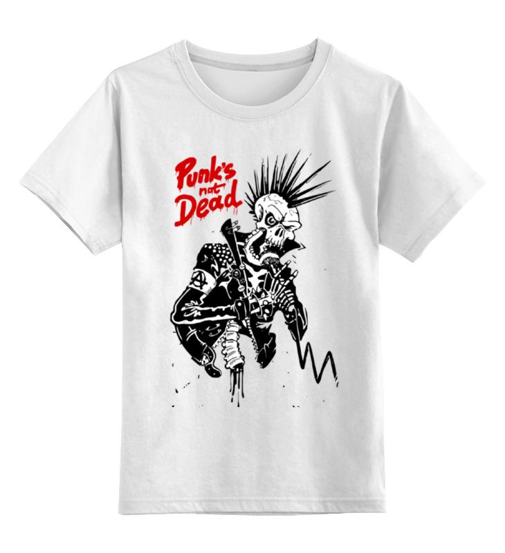 Детская футболка классическая унисекс Printio Панки живы (punks not dead) original monstr high love s not dead ghoulia yelps