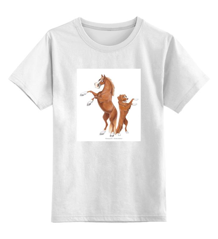 Детская футболка классическая унисекс Printio Рыжий пони/толлер кружка printio рыжий пони толлер