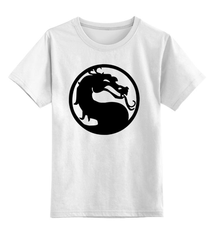 Детская футболка классическая унисекс Printio Mortal kombat (мортал комбат) свитшот унисекс хлопковый printio mortal kombat