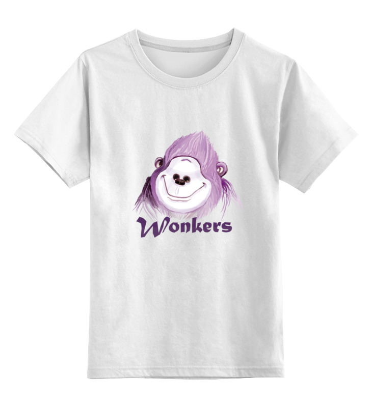 Детская футболка классическая унисекс Printio Wonkers the watilla сумка printio wonkers the watilla