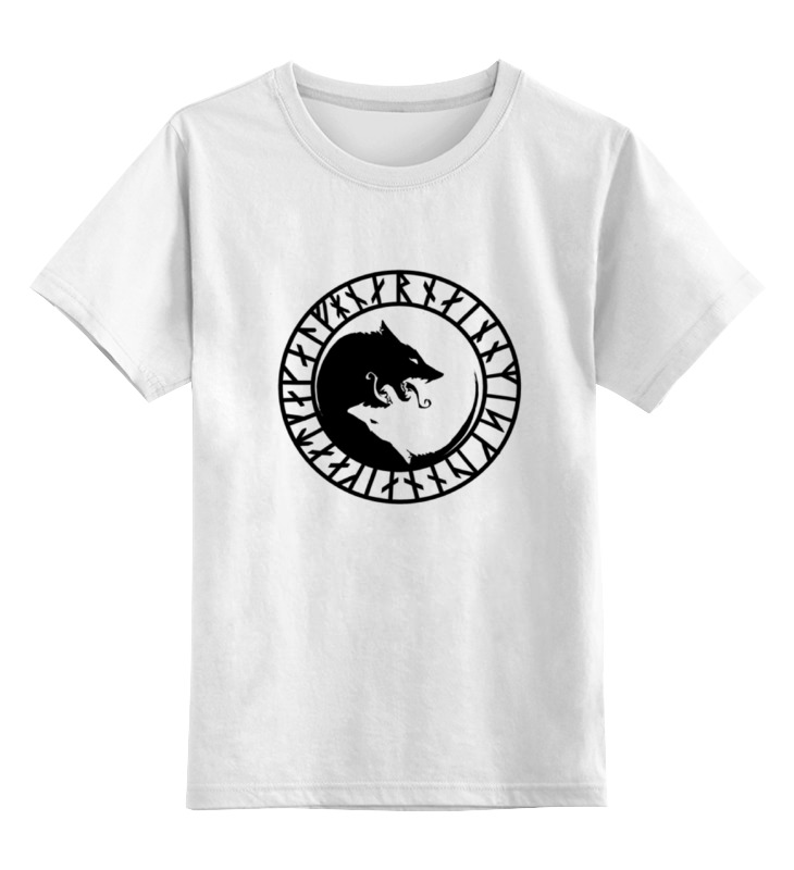 Детская футболка классическая унисекс Printio Руна викингов детская футболка классическая унисекс printio руна духовный рост