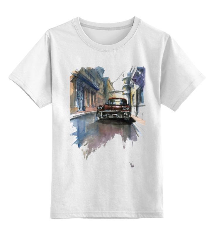 Детская футболка классическая унисекс Printio Cubana цена и фото