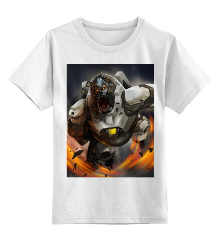 Детская футболка классическая унисекс Printio Winston детская футболка классическая унисекс printio winston