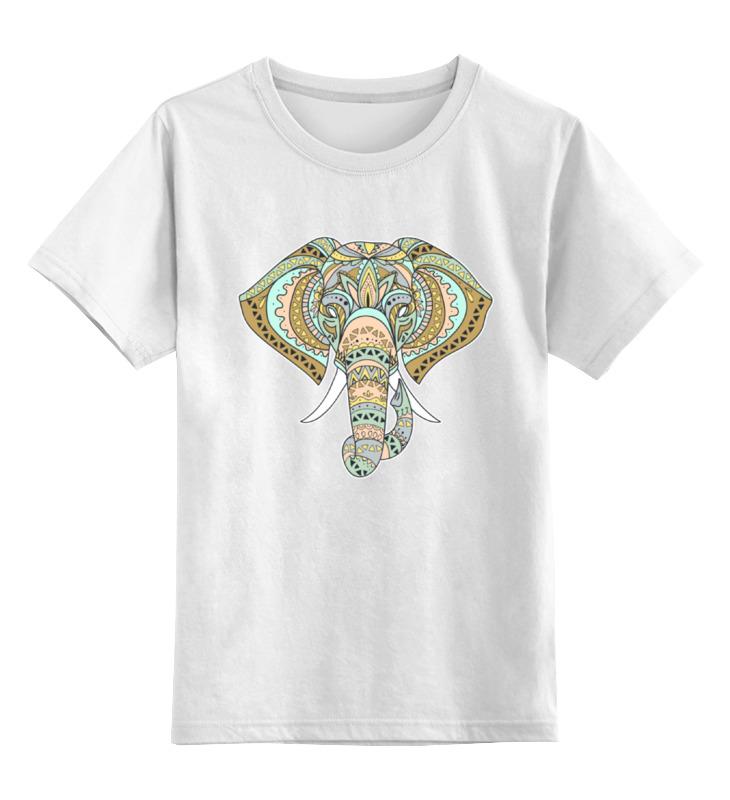 Детская футболка классическая унисекс Printio Слоник детская футболка классическая унисекс printio слоник
