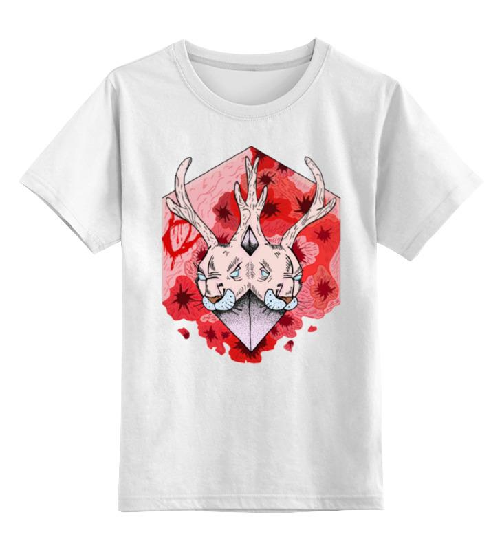 Детская футболка классическая унисекс Printio Джекалоп лонгслив printio джекалоп