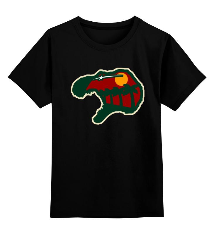 Фото - Детская футболка классическая унисекс Printio Голова динозавра (парк юрского периода) конструктор nd play автомобильный парк 265 608