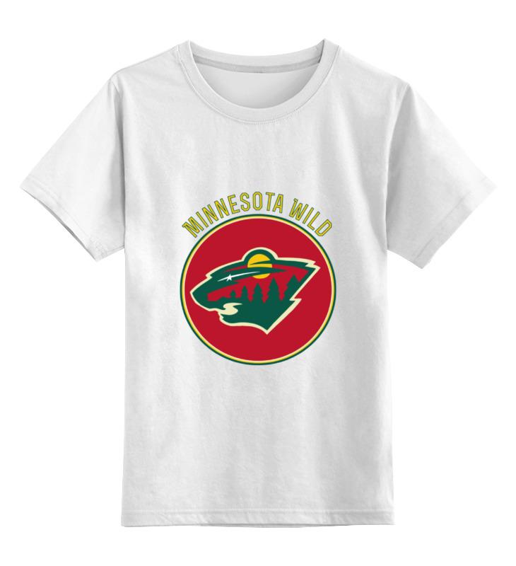 Детская футболка классическая унисекс Printio Миннесота уайлд детская футболка классическая унисекс printio карандаш и самоделкин