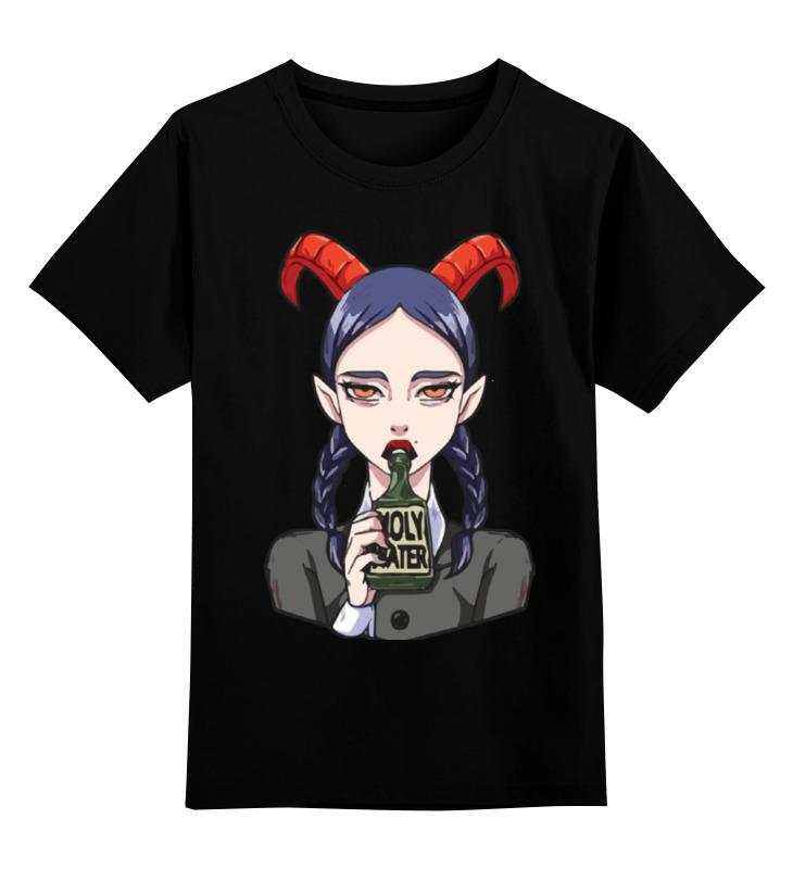 Детская футболка классическая унисекс Printio Devil girl детская футболка классическая унисекс printio tank girl