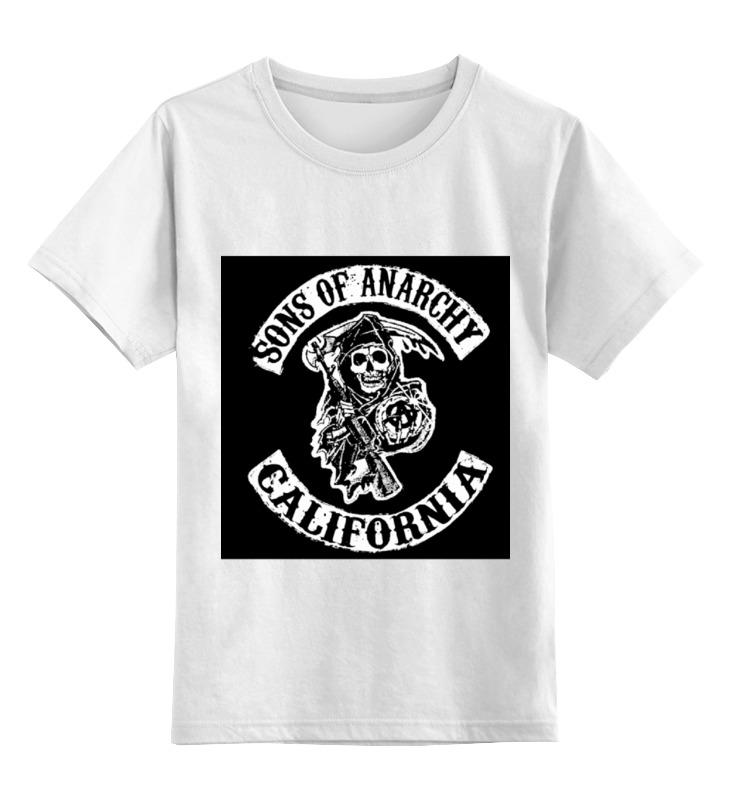 Детская футболка классическая унисекс Printio Sons of anarchy