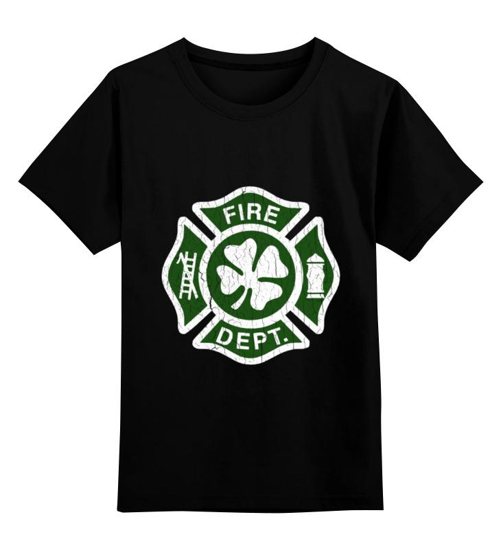 Детская футболка классическая унисекс Printio Ирландский пожарный ирландский красно белый сеттер украина