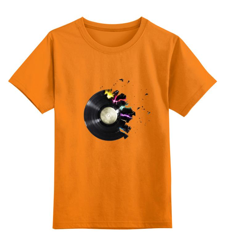 Детская футболка классическая унисекс Printio Музыка
