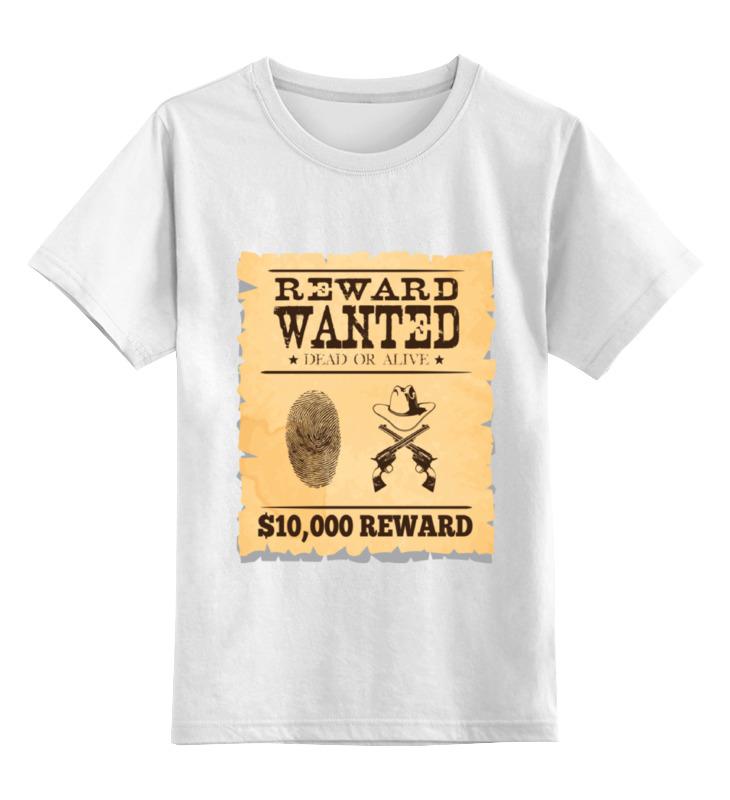 Детская футболка классическая унисекс Printio Разыскивается преступник