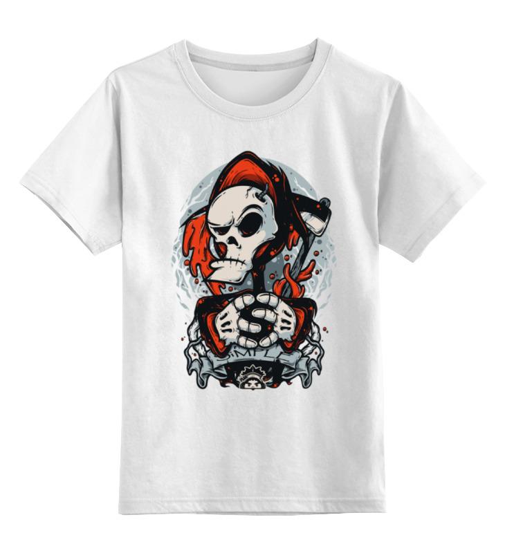 Детская футболка классическая унисекс Printio Смерть арт футболка классическая printio смерть арт